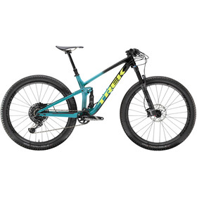 Trek Top Fuel 9.8 GX black to teal fade